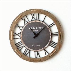 壁掛け時計 壁掛時計 掛け時計 掛時計 60cm 大きい 木製 アイアン クラシック ウォールクロック アンティーク レトロ おしゃれ ローマ数字 丸 ビッグな掛時計60|gigiliving|06