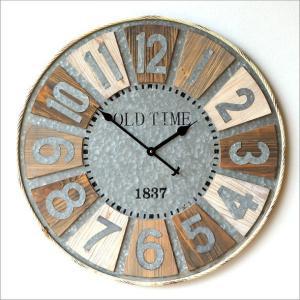 7bb5f6d5a0 壁掛け時計 壁掛時計 掛け時計 掛時計 ウォールクロック アンティーク おしゃれ 大型 大きい ヴィンテージ 木製 レトロ ビッグ ...