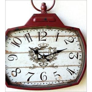 壁掛け時計 壁掛時計 掛け時計 掛時計 アンティーク ヴィンテージ クラシック おしゃれ アンティークなウォールクロック シャビースクエア2カラー|gigiliving|03