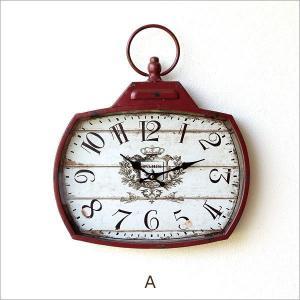 壁掛け時計 壁掛時計 掛け時計 掛時計 アンティーク ヴィンテージ クラシック おしゃれ アンティークなウォールクロック シャビースクエア2カラー|gigiliving|07