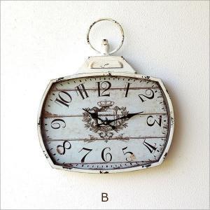 壁掛け時計 壁掛時計 掛け時計 掛時計 アンティーク ヴィンテージ クラシック おしゃれ アンティークなウォールクロック シャビースクエア2カラー|gigiliving|08