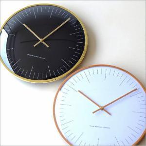 壁掛け時計 壁掛時計 掛け時計 掛時計 おしゃれ シンプル ウォールクロック ブラック 黒 ホワイト 白 モダン インテリア シンプルメタルクロック 2カラー|gigiliving