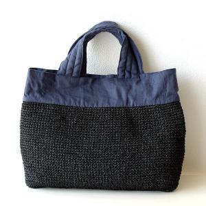リネンコマ編みトートバッグ|gigiliving