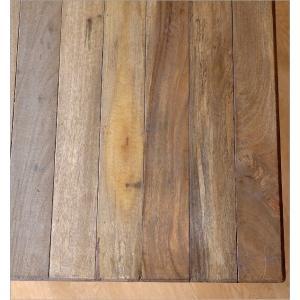 ダイニングテーブル 75×75 正方形 2人用 二人用 木 ウッドテーブル おしゃれ シャビー レトロ アンティーク ナチュラル シャビーシックなスクエアテーブル gigiliving 03