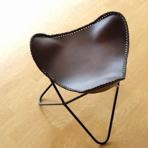 スツール レザー 本革 アイアン アンティーク レトロ 革製 椅子 いす イス レザースツール レザーチェア おしゃれ シンプル 革張り レザーバタフライスツール|gigiliving