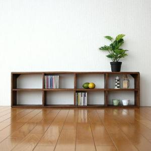 飾り棚 飾棚 CDラック 壁掛け 棚 ディスプレイラック シェルフ アジアン アンティーク 家具 ヴィンテージ シャビーシックな8シェルフ|gigiliving