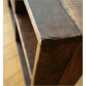 飾り棚 飾棚 CDラック 壁掛け 棚 ディスプレイラック シェルフ アジアン アンティーク 家具 ヴィンテージ シャビーシックな8シェルフ|gigiliving|05