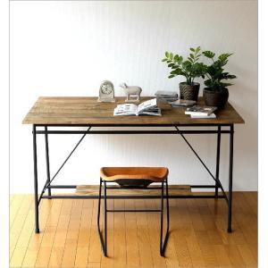 ワークテーブル 作業台 ディスプレイテーブル 大きい 木製 おしゃれ レトロ アンティーク 什器 シャビーシックなワークテーブル&デスク B|gigiliving|02