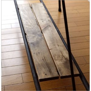 ワークテーブル 作業台 ディスプレイテーブル 大きい 木製 おしゃれ レトロ アンティーク 什器 シャビーシックなワークテーブル&デスク B|gigiliving|05