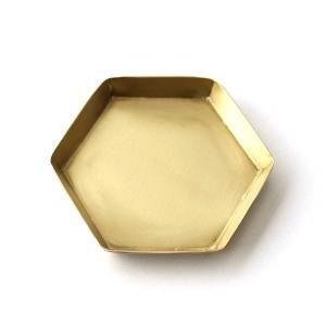 鈍い輝きが魅力の真鍮 レトロな風合いは そこにあるだけで おしゃれ空間になりそう。  六角形の可愛い...