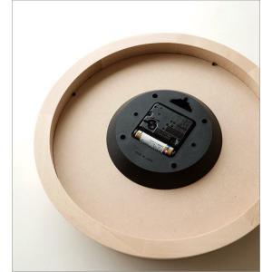 掛け時計 壁掛け時計 おしゃれ シンプル 見やすい ナチュラル 木製 無垢材 日本製 直径30cm ブランチクロック B gigiliving 04