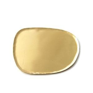 真鍮 トレイ アクセサリートレイ おしゃれ レトロ アンティーク ゴールド 手作り 小物置き 小物入れ 卓上 飾る ディスプレイ 皿 受け皿 ブラス変形トレイ|gigiliving