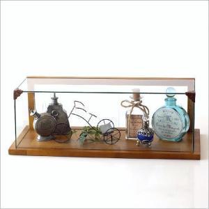 ガラスショーケース コレクションケース 小物 飾り ディスプレイケース ウッドとガラスのショーケース|gigiliving