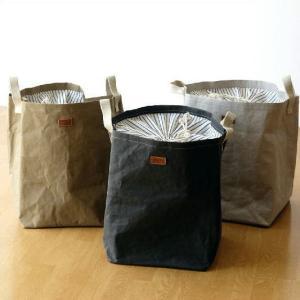 UASHMAMA ランドリーバッグ ランドリーバスケット 洗濯かご 折りたたみ おしゃれ イタリア製 洗える UASHMAMAランドリーバッグ 3カラー