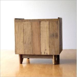 サイドチェスト ベッドサイドテーブル 木製 アンティーク レトロ ソファサイドテーブル デザイン ウッド ビンテージ 家具 シャビーシックなサイドチェスト gigiliving 07