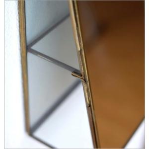 鏡 壁掛け ミラー アクセサリーケース ふた付き 小物入れ ジュエリーケース ウォールミラー シンプル アンティーク レトロ おしゃれ ウォールミラーボックス|gigiliving|04