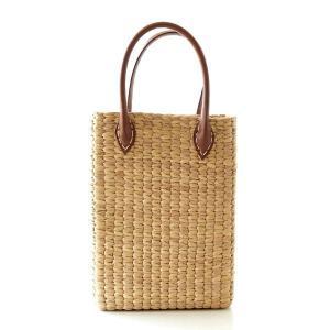 弾力性としなやかさを兼ね備えた ウォーターヒヤシンスの水草で編んだ ナチュラルなかごバッグです  ふ...