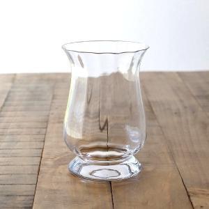 花瓶 花びん ガラス フラワーベース おしゃれ クリア 透明 シンプル ガラスベース 花器 Duskポットベース|gigiliving