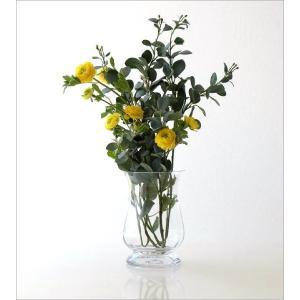 花瓶 花びん ガラス フラワーベース おしゃれ クリア 透明 シンプル ガラスベース 花器 Duskポットベース|gigiliving|02