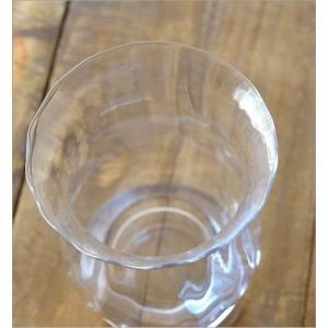 花瓶 花びん ガラス フラワーベース おしゃれ クリア 透明 シンプル ガラスベース 花器 Duskポットベース|gigiliving|03