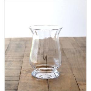 花瓶 花びん ガラス フラワーベース おしゃれ クリア 透明 シンプル ガラスベース 花器 Duskポットベース|gigiliving|05