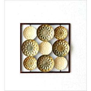 壁飾り アイアン インテリア 壁掛け おしゃれ アートパネル 花 デザイン ウォールパネル ウォールアート シック モダン アイアンの壁飾り スクエアフレーム|gigiliving|05