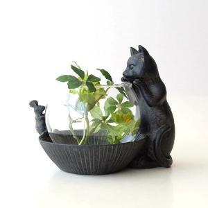 猫雑貨 置物 花瓶 花びん 子ネコのミニベース&ミニマウス|gigiliving