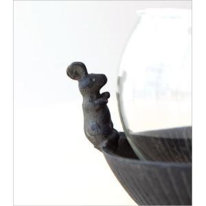 猫雑貨 置物 花瓶 花びん 子ネコのミニベース&ミニマウス|gigiliving|05