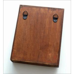 キーボックス 壁掛け 木製 インテリア おしゃれ レトロ アンティーク 鍵掛け 鍵かけ キーフック アクセサリーフック ガラス扉 ウッド壁掛ミニキーケース|gigiliving|05