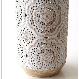 花瓶 花びん フラワーベース おしゃれ 円柱 円筒 レトロ アンティーク 花器 スチール透かし彫りビッグベース gigiliving 04