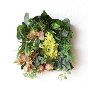 壁飾り 人工観葉植物 壁掛けインテリア ディスプレイ フェイクグリーン 光触媒 壁面 オーナメント パネル ウォールデコレーショングリーン F|gigiliving
