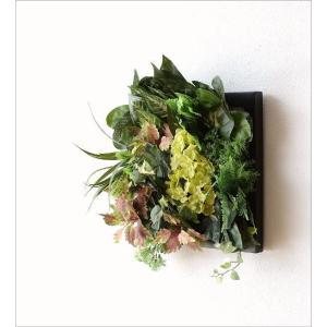 壁飾り 人工観葉植物 壁掛けインテリア ディスプレイ フェイクグリーン 光触媒 壁面 オーナメント パネル ウォールデコレーショングリーン F|gigiliving|02