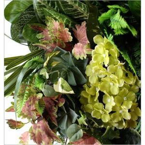 壁飾り 人工観葉植物 壁掛けインテリア ディスプレイ フェイクグリーン 光触媒 壁面 オーナメント パネル ウォールデコレーショングリーン F|gigiliving|03