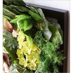 壁飾り 人工観葉植物 壁掛けインテリア ディスプレイ フェイクグリーン 光触媒 壁面 オーナメント パネル ウォールデコレーショングリーン F|gigiliving|04