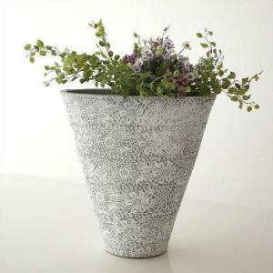 花瓶 花びん 花器 フラワーベース 陶器のベース ドルチェ|gigiliving