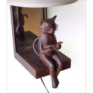 照明 壁掛け ライト シェードランプ 雑貨 壁掛けネコランプ|gigiliving|04