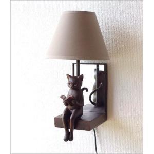照明 壁掛け ライト シェードランプ 雑貨 壁掛けネコランプ|gigiliving|06