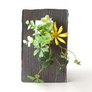 花瓶 花びん 陶器 花器 おしゃれ 一輪挿し フラワーベース 陶器のフレーム花入れ|gigiliving