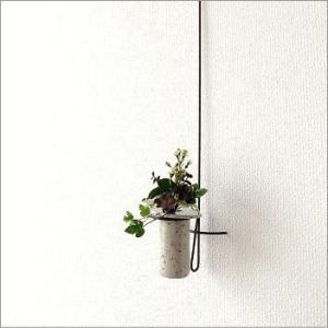 花瓶 花びん 花器 陶器 一輪挿し 壁掛けロングハンギング|gigiliving