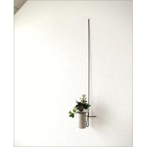 花瓶 花びん 花器 陶器 一輪挿し 壁掛けロングハンギング|gigiliving|02