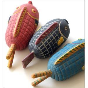 置物 オブジェ 魚 アフリカ インテリア おしゃれ テラコッタ 素焼き 陶器 アフリカンオブジェ フィッシュ3タイプ|gigiliving|04