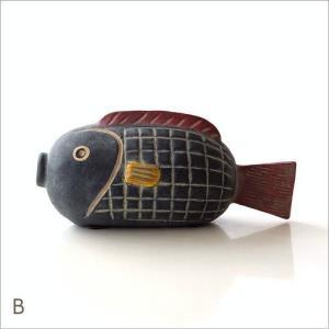 置物 オブジェ 魚 アフリカ インテリア おしゃれ テラコッタ 素焼き 陶器 アフリカンオブジェ フィッシュ3タイプ|gigiliving|06
