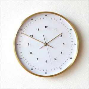壁掛け時計 壁掛時計 掛け時計 掛時計 シンプル おしゃれ スイープムーブメント 音がしない 連続秒針 静音 丸 室 玄関 ウォールクロック VALUABLEゴールド