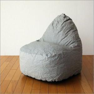 クッションソファー ソファ かわいい 防水加工 座椅子 ローソファー ポップソファー グレイ|gigiliving