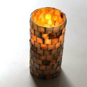 LEDキャンドル ゆらぎ おしゃれ ナチュラル シェル LEDライト インテリア 照明 息で消える シェルLEDキャンドルライトL gigiliving