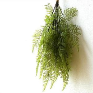 フェイクグリーン 壁掛け スワッグ 造花 インテリア 人工観葉植物 壁面 壁 玄関 おしゃれ リビング ウォールデコ 吊り下げ フェイクファーンスワッグ|gigiliving