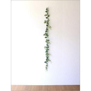 フェイクグリーン 壁飾り 壁掛けインテリア ナチュラル リース ウォールデコレーション フェイクポトスのガーランド|gigiliving|02