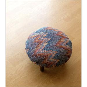 スツール おしゃれ クッション 低い ロータイプ 子供 椅子 丸い 丸形 円形 ローチェア オットマン 足載せ 布張り 生地 かわいい 可愛い ロースツール ラウンド|gigiliving|02