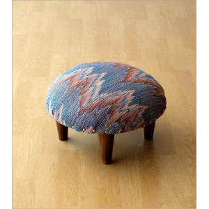 スツール おしゃれ クッション 低い ロータイプ 子供 椅子 丸い 丸形 円形 ローチェア オットマン 足載せ 布張り 生地 かわいい 可愛い ロースツール ラウンド|gigiliving|07