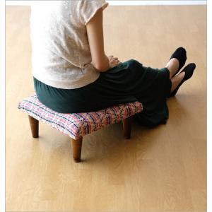 スツール おしゃれ クッション 低い ロータイプ 子供 椅子 ローチェア オットマン 足載せ 布張り 生地 かわいい 可愛い 四角 正方形 ロースツール スクエア|gigiliving|03